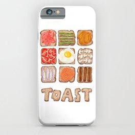 Breakfast Toast iPhone Case
