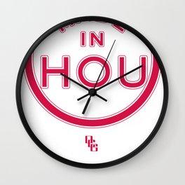 Made in Houston - ROCKETS Wall Clock