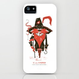 U is for Uniped iPhone Case