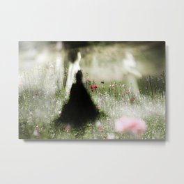 Dance in meadow 2 Metal Print