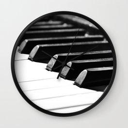 Piano 10  Wall Clock