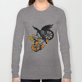 Raven and Ginkgo - Autumn Cycle Long Sleeve T-shirt