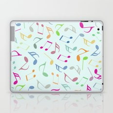 Music Colorful Notes Laptop & iPad Skin