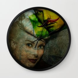 YOU ARE IN MY CLUTCHES  Wall Clock