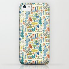 folk forest iPhone 5c Slim Case