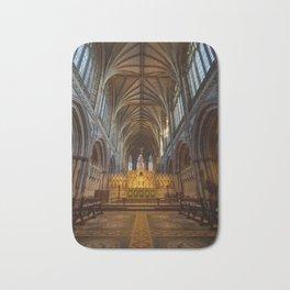 Lichfield cathedral inside Bath Mat