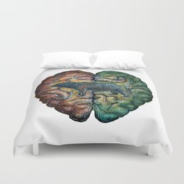 Bear in Mind...  ((( Bear Brains ))) Duvet Cover