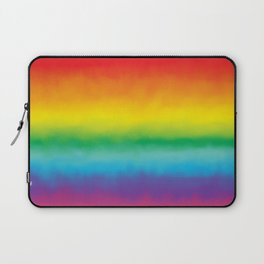 Watercolor Rainbow Laptop Sleeve