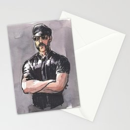 JAMES, Leather Daddy by Frank-Joseph Stationery Cards