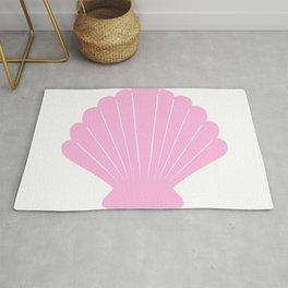 Seashell (Pink & White) Rug