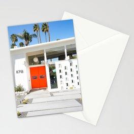 Mid Century Orange Stationery Cards
