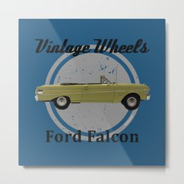 Vintage Wheels: Ford Falcon Metal Print