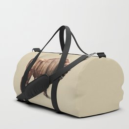 Bison double exposure Duffle Bag