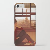 enjolras iPhone & iPod Cases featuring Enjolras by rdjpwns