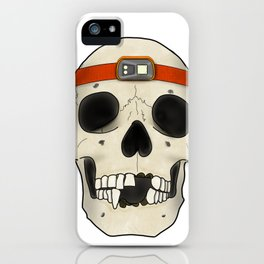 Skull Head Lamp iPhone Case