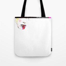 Make-up Face Tote Bag