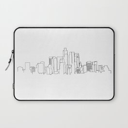 Los Angeles Skyline Drawing Laptop Sleeve
