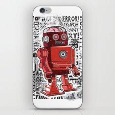 Robot Flux iPhone & iPod Skin