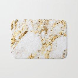 Luxe bright golden Bath Mat