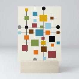 Mid-Century Modern Art 1.3 Mini Art Print
