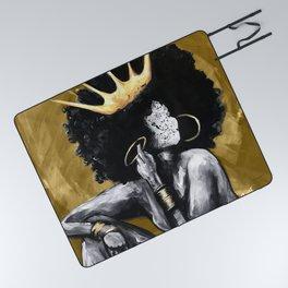 Naturally Queen VI GOLD Picnic Blanket