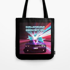 Challenge your Dodgement Day Tote Bag