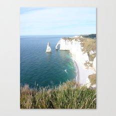 Cliffs at Etretat Canvas Print