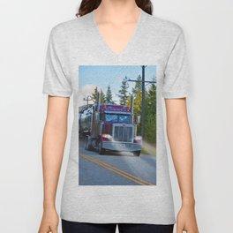 Trans Canada Trucker Unisex V-Neck