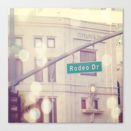Rodeo Drive  Canvas Print