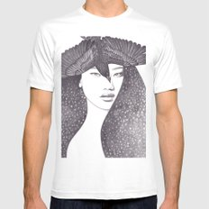 Soul Sister Mens Fitted Tee MEDIUM White