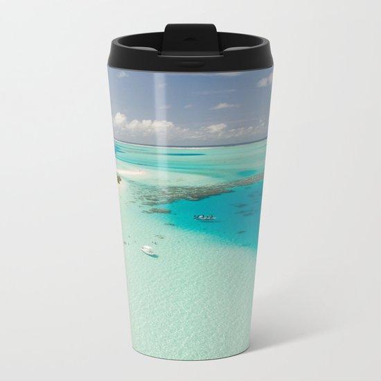 Tropical Delight Metal Travel Mug
