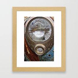 Sealed Beam Framed Art Print