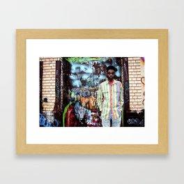 Kaleem. Framed Art Print