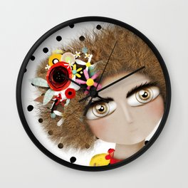 I can not take my eyes out of you Wall Clock