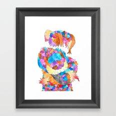 Clusters 1 Framed Art Print