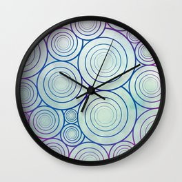 A Plethora of Curls Wall Clock