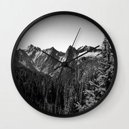 Cacades Wall Clock