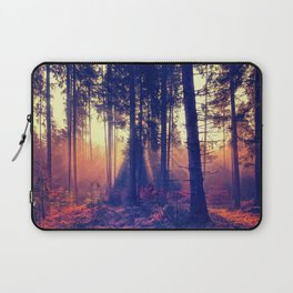 one morning in the middle of the forest Laptop Sleeve