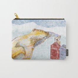 Valentines polar bear Carry-All Pouch
