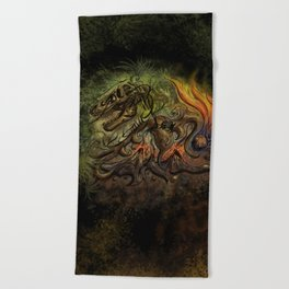 Extinction Chaos Beach Towel