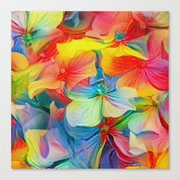 Flower Fantasy - Hydrangea Canvas Print