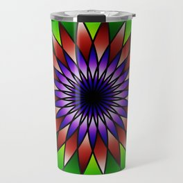 Queen of the valley mandala Travel Mug
