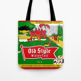 Old Style Northern Ale Tote Bag