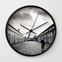 nordic scene Wall Clock
