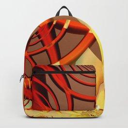 Circling 2 Abstract Fractal Art Backpack