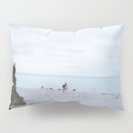 Salty air 18 III, Brittany, France Pillow Sham