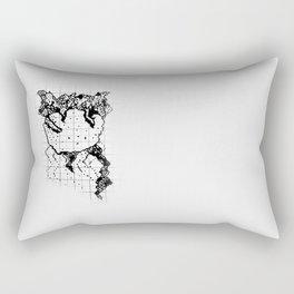 The Grid I Rectangular Pillow