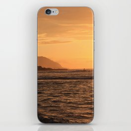 North Shore Sunset iPhone Skin