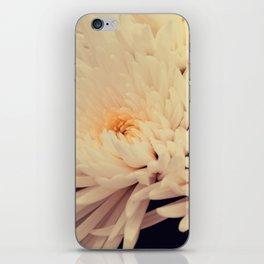 Gorgeous white dahlia iPhone Skin