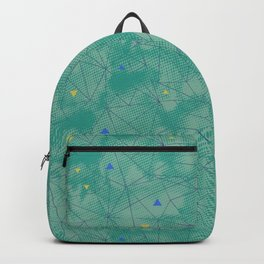 Green Mineral Sport Backpack